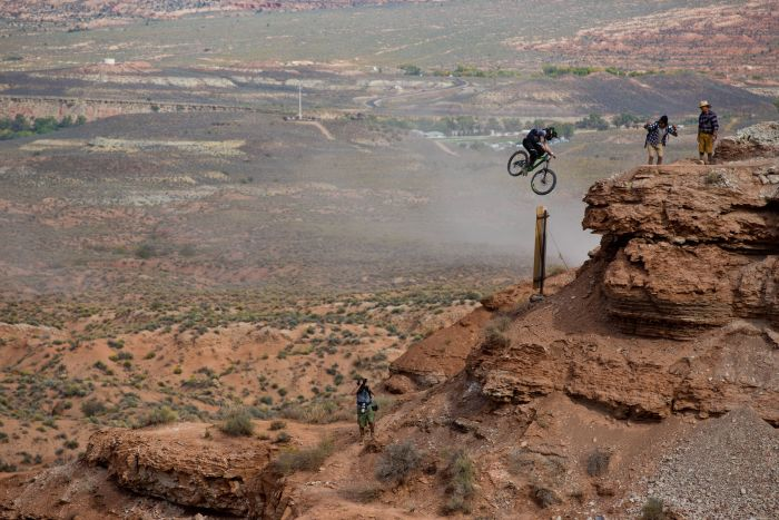 Red Bull Rampage 2017 - VIRGIN, UTAH, USA – OCTOBER 23, 2017 - GT Fully